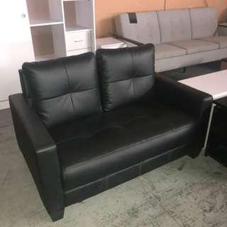 2 Seater pu Leather sofa