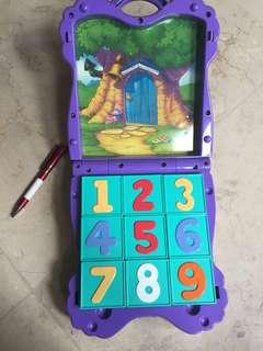 Winnie the Pooh blocks and magnet toy