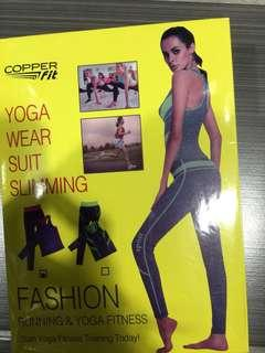 Yoga wear suit slimming