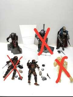 Todd mcfalance predators figures lot