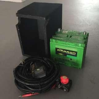 Ironman 4x4 140 Amp Dual Battery Kit