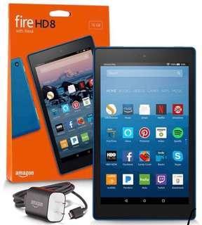 Amazon Kindle Fire HD 8 32GGB ( 2017 - Blue color)