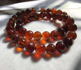 Natural Amber necklace from Myanmar