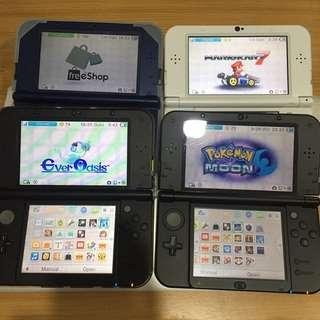 New/old 3DS XL LL Modding Service