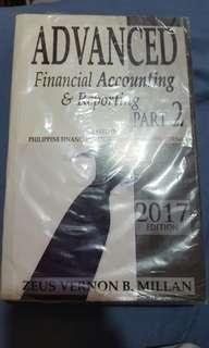 Advanced financial accounting and reporting part 2