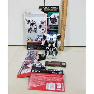 Transformers Power of the Primes POTP Jazz - 100% complete Good Condition