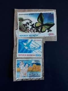 IDSTM. Indonesia stamps.