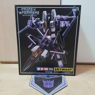 Transformers MP-11SW MP-11 MP11SW MP11-SW Masterpiece Skywarp F-15 Brand New - MISB Good Box with coin medallion