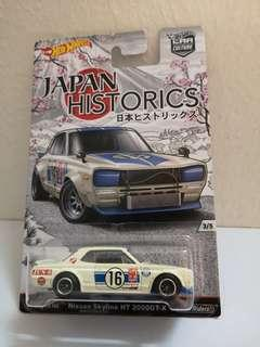 Hot Wheels Japan Historics Hako No rollcage