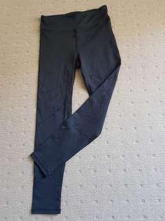 Cotton On pinhole black tights XS