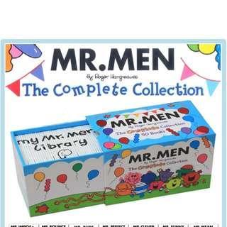 Mr Men Complete Collection Box Set - 50 books