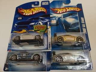 Hot Wheels Lot of 4 Nissan Z