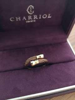 Charriol Rose Gold Ring
