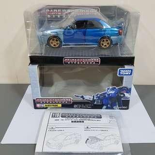 Transformers Binaltech BT-19 BT19 Bluestreak Subaru Impreza WRX - Mint In Box 100% complete
