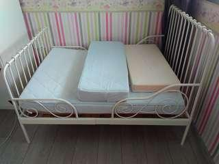 Ikea kids bed frame and mattress