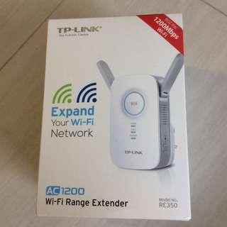TP LINK RE350 WIFI EXTENDER