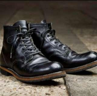 Red Wing 9014 Beckman Round Black Men Boots
