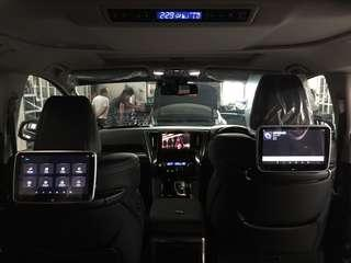 """Toyota Alphard👉2018 Installed Android Monitor 10.1"""""""