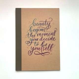 Custom A5 Notebook
