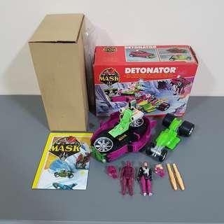 MASK M.A.S.K. Detonator Split Seconds vintage toy Volkswagen Jacques LaFleur - Complete good condition