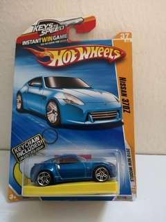 Hot Wheels Nissan 370z with Keychain
