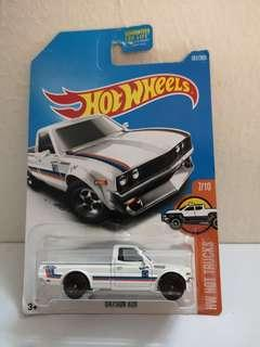 Hot Wheels Datsun Pickup US Card