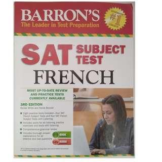 SAT book with 2 CDs