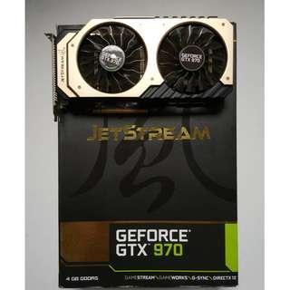 GTX 970 4GB Palit Jetstream