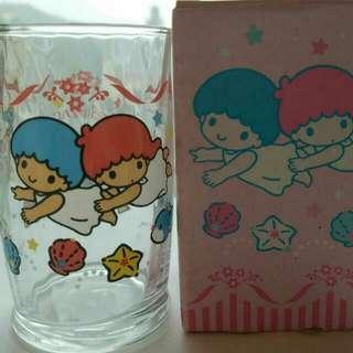 90年代中古 Little twins stars 玻璃杯