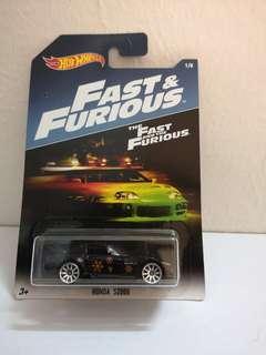 Hotwheels Fast & Furious S2000