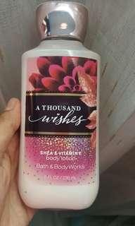 BODY LOTION BATH BODY WORK