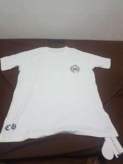 Chrome heart white shirt
