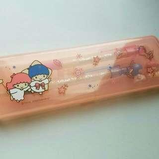 中古 Sanrio Little Twin Stars 文具套裝