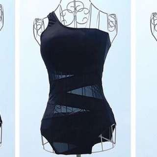 Clearance sale! Brand New In Stock 1 Piece Mesh Swimsuit