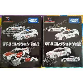 Tomica Limited Nissan GT-R Vol. 1 and 2 Set