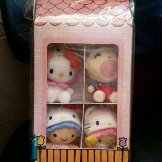 全新正版 2004 Sanrio 盒裝公仔 Little Twin Stars Hello Kitty, My melody, 大口仔