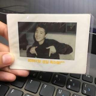 [BUNDLE] iKON Official Polaroid Stickers