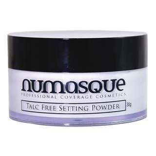 Numasque Talc Free Translucent Loose Setting Powder. RRP $45