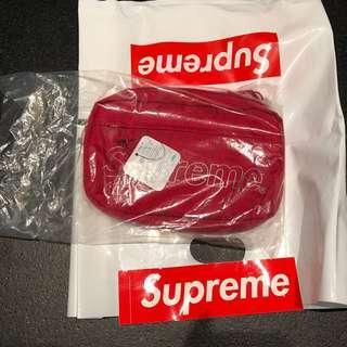 Supreme FW18 Red Shoulder Bag