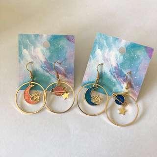 🚚 Galaxy Earring
