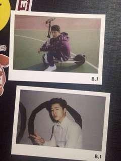iKON B.I Official Polaroids from 2016 iKON Season's Greetings