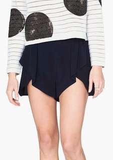 Sass and Bide Silk Shorts (Navy)