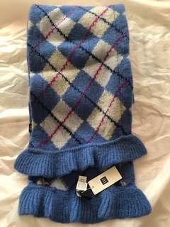 GAP lambs wool scarf 羊毛頸巾 超暖
