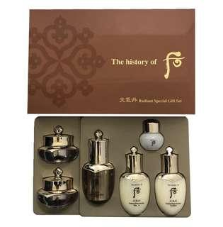 The History of Whoo 后 天氣丹6件體驗禮品裝 RADIANT SPECIAL GIFT SET