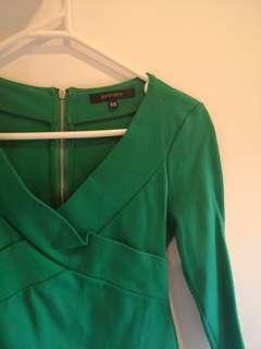 Portmans green top
