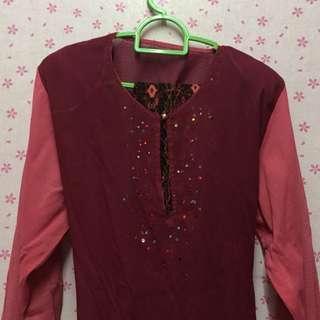 Baju Kurung moden batik  #OCT10
