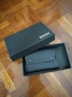 BMW Leather Card Holder