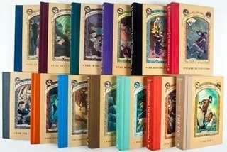 Preloved Complete Hardbound Series of Unfortunate Events Book Series