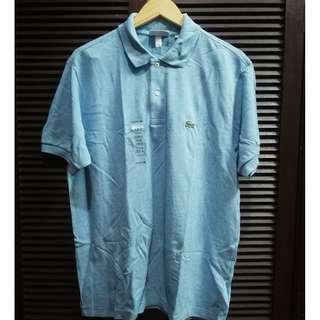 Lacoste Classic Polo Shirt Light Blue Size 5 / Large