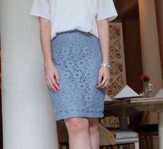 Ramune Lilac Lace Skirt